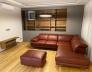 Obývací stěna dýha - šedá