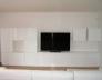 Televizní sestava bílá lesk