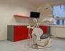 Zubní ordinace červená čínská, šedá prachová