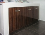 Skříňka pod umyvadlo - Makassar lesk